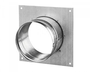 Wall flange square Ø250mm