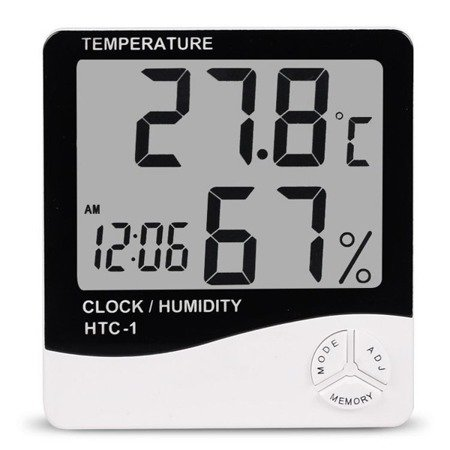 Digital Hygrometer/Thermometer